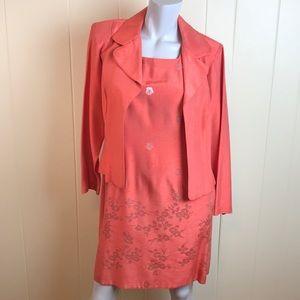 Vintage 80s/90s 2pc Jacket & Sheath Dress